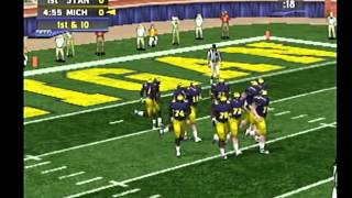 ncaa football 2k2 dreamcast stanford at michigan