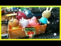 Toy Train Video for Kids. Peppa Pig Ride on Polar Express Train. Real Steam Train. Rebby's PlayTime.
