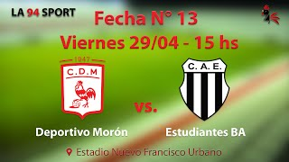Deportivo Moron vs Club Atlético Est. full match