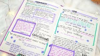 How to Start a Bible Study Journal | Christian Bullet Journal 2019