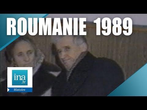 Les premières images du procès de Nicolae Ceaușescu - Archive INA