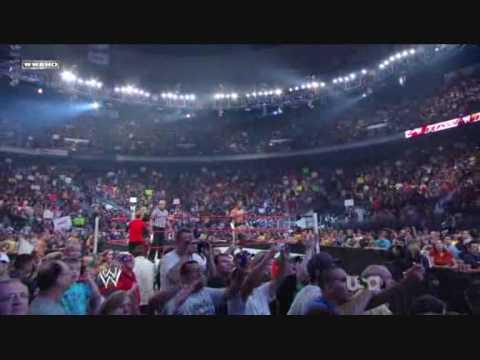 Triple h & John Cena & Seth Green (actor) vs Randy Orton & Legacy Part 1