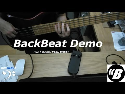 Just Bass It - BackBeat Demo - Personal Subwoofer