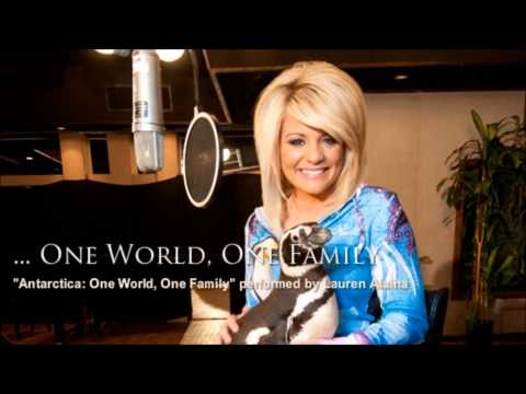 Lauren Alaina - Antarctica: One World, One Family [ New Song ]