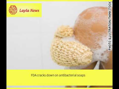 FDA cracks down on antibacterial soaps | By: CNN