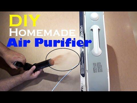 DIY Air Purifier - Easy Homemade Air Cleaner
