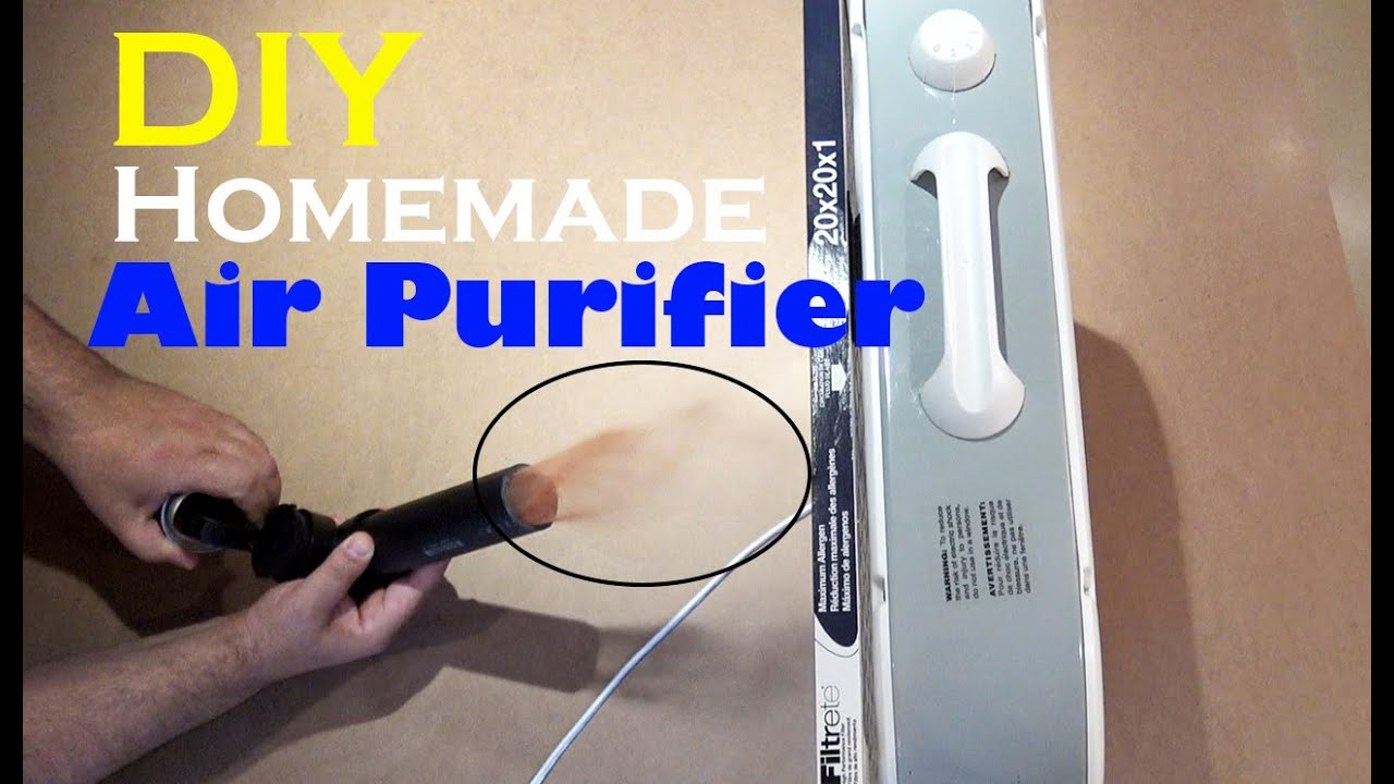 How To Make An Air Purifier? Making Your Own Air Purifiers
