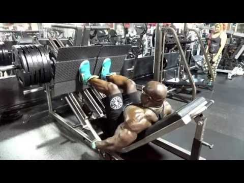 Monster LEG WORKOUT w/ Kali Muscle + Flex Wheeler