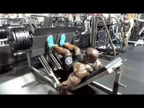 Monster LEG WORKOUT w/ Kali Muscle + Flex Wheeler