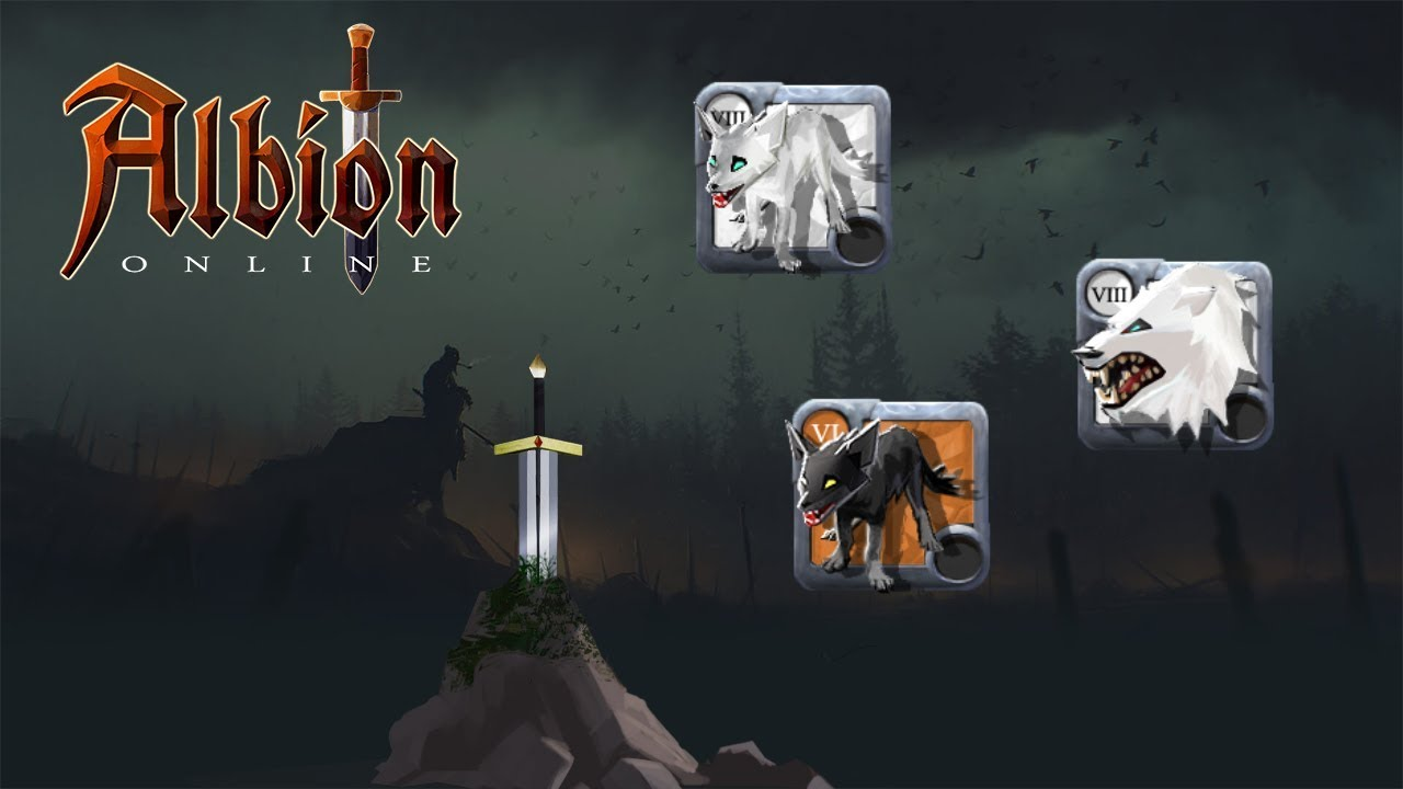 albion online kay update broken things raid mount and new weapon