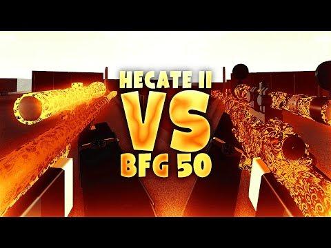 HECATE II vs. BFG 50 in Phantom Forces