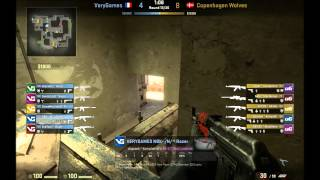 CS:GO Pro Positions - [7] VeryGames NBK playing Mid on Mirage