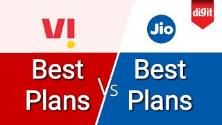 Jio Vs Vi (Vodafone Idea) Plans [Hindi - हिन्दी]