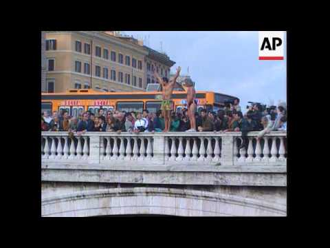 Italy - Dive Into River Tiber