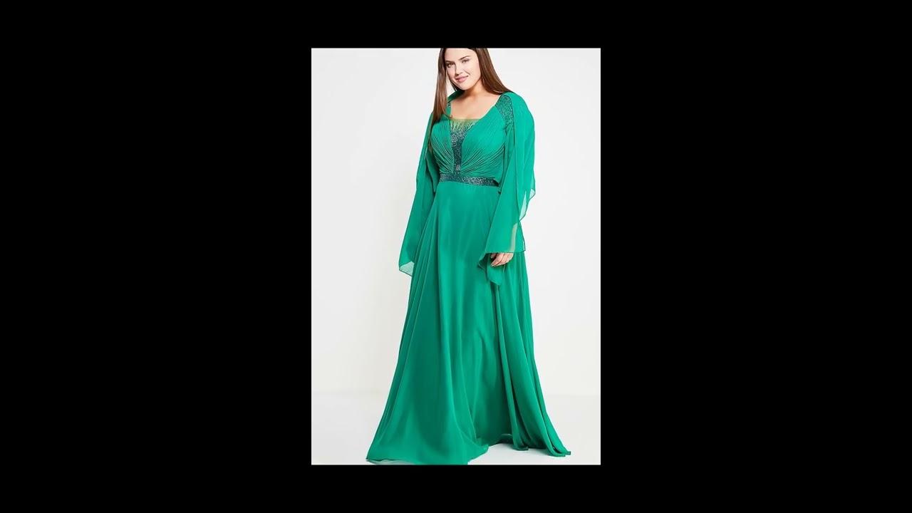 фасоны вечерних платьев для полных женщин фото - YouTube