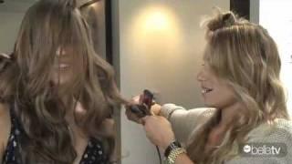 BellaTV Hair Crimping Session Erupts into Fun!