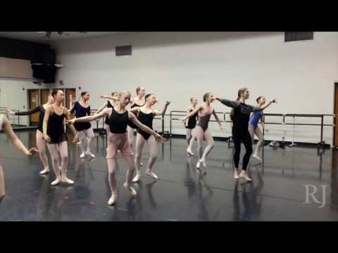Ballet tryouts at Youth America Grand Prix in Las Vegas