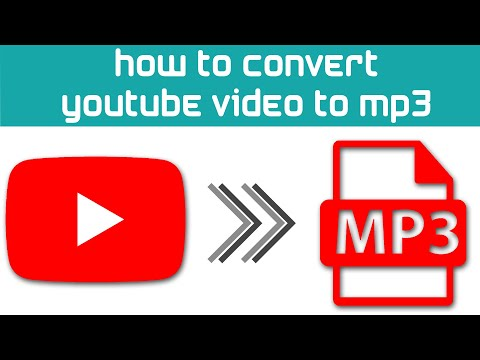 How to convert/save a youtube video to mp3 (or video)