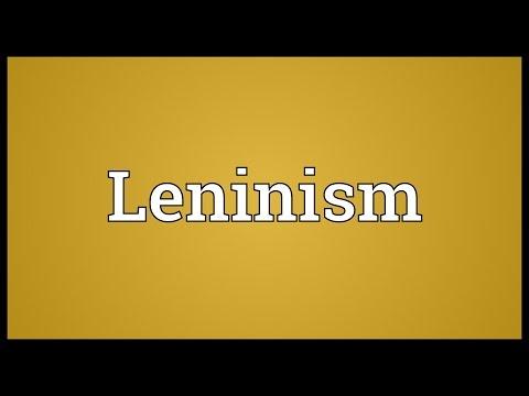 Header of Leninism