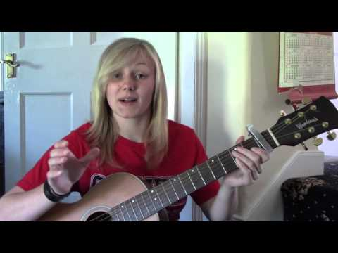 How to play Wildest Dreams (Taylor Swift) acoustic guitar lesson