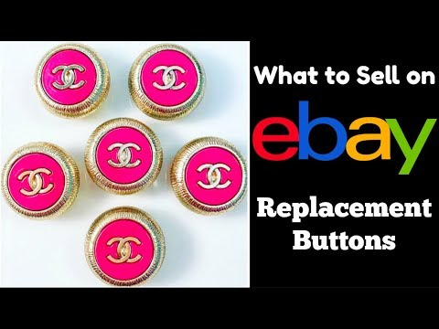 Make Money Selling Replacement Buttons on eBay