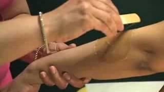 How-to Sugar:  Shobha Arm Sugaring Video