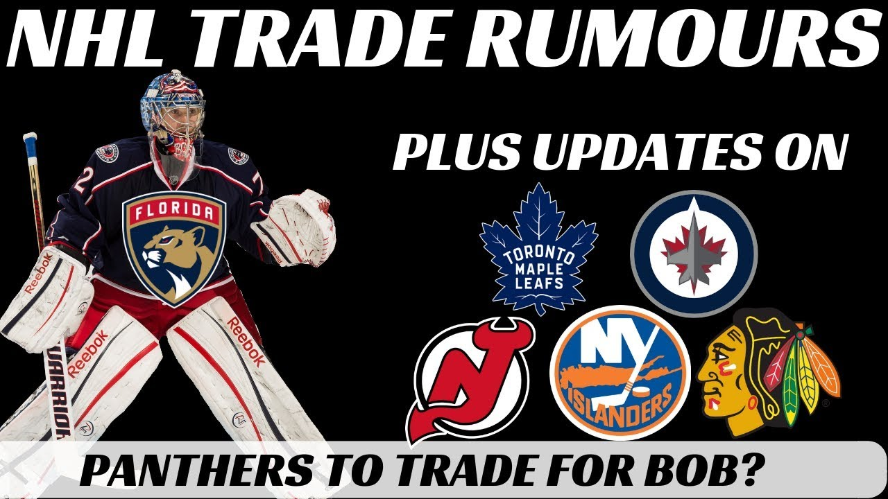 Download NHL Trade Rumours - Bobrovsky to Panthers? + Leafs,Jets, Isles, Hawks