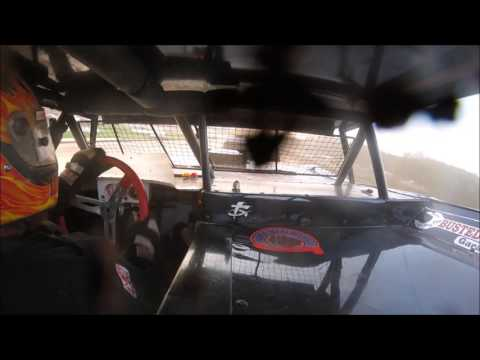 Brett McDonald Heat Race Lernerville Speedway 7/14/17 IN-CAR