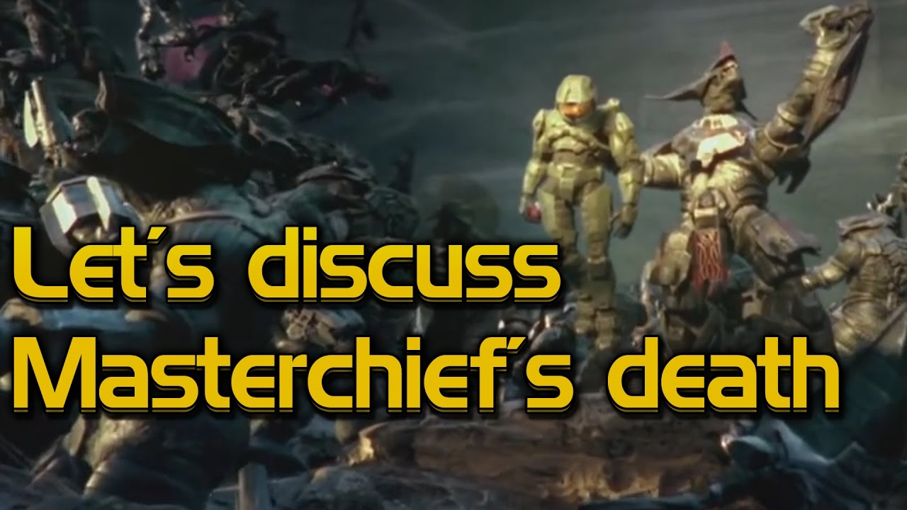 Let's discuss Master Chief's death
