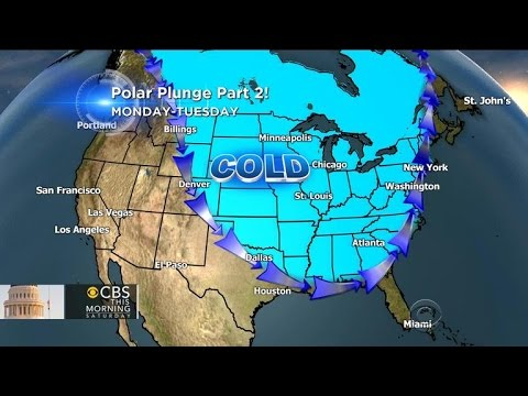 Snow moves in across abnormally cold U.S.