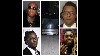 Birdman and Young Thug may be charged w/ Shooting up Lil Wayne bus after Birdman gets caught on tape