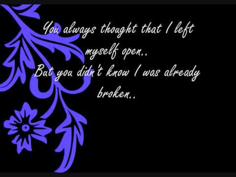 Three Days Grace - Lost In You [with lyrics]
