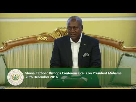Ghana Catholic Bishops Conference calls on President Mahama