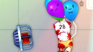 HAPPY ROOM ARMURERIE #2 : On accroche le corps à des ballons