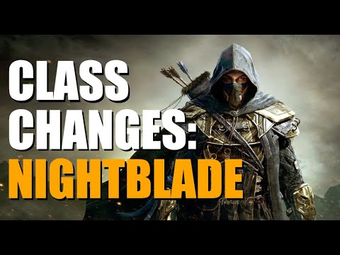 Nightblade Class Changes - ESO Elsweyr Patch Notes