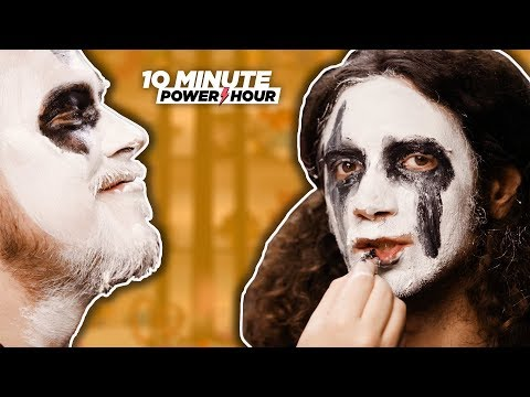 Your Morning Show - Do you know how to put on Black Metal Make up?