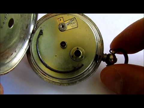 Antique Pocket Watch H. Samuel  Manchester  0,935 silver case