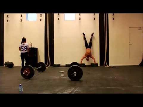 CrossFitBergen.no / SuperSterk.no - Suzanne & André Svanevik - Christmas Workout