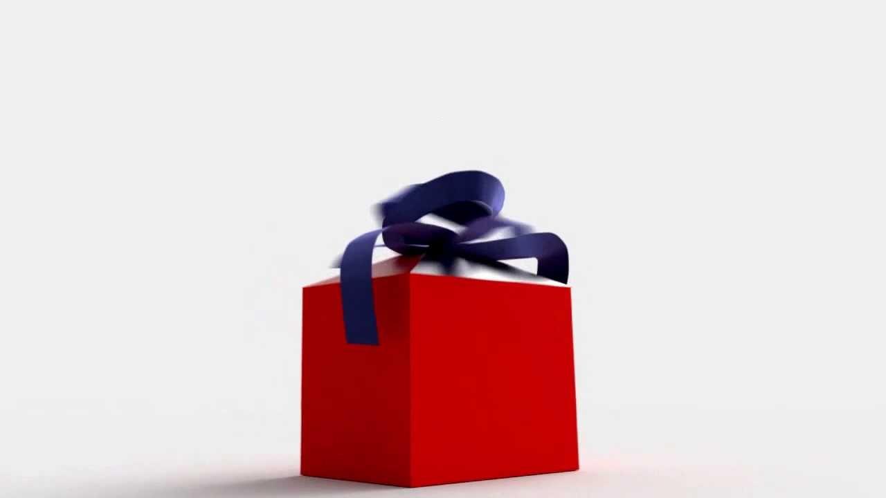 Animated Present Box - YouTube