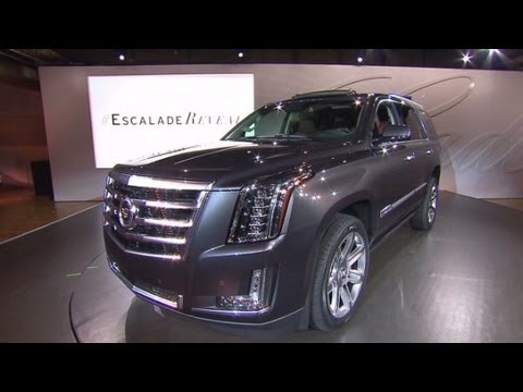 New Cadillac Escalade >> Peek Inside The New Cadillac Escalade Youtube