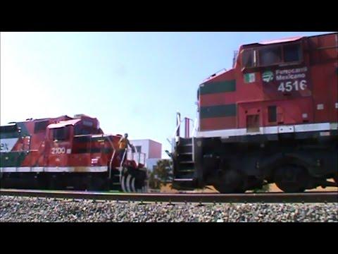 Ferromex :Trenes de pasajeros en guadalajara!!