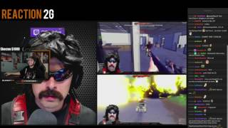 summit1g dr disrespect reaction w chat both of them