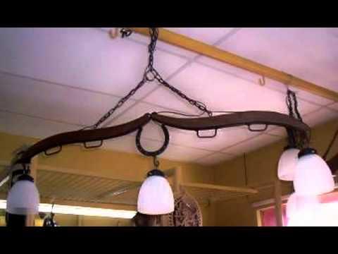 Iluminacion rustica estilo campo youtube - Como hacer una lampara rustica ...