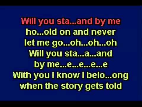 Karaoke   Stand By Me   Shayne Ward mp4