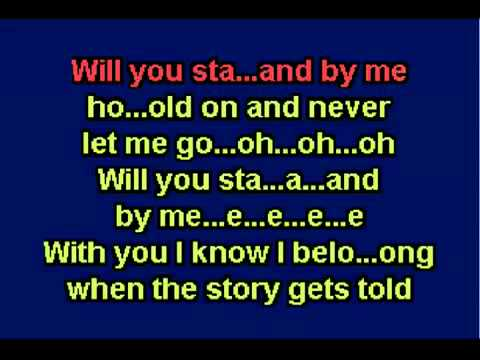 Karaoke   Stand By Me   Shayne Ward mp4
