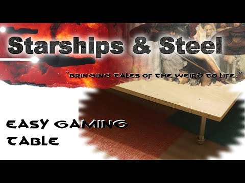 Ep 61: Super Easy Gaming Table!