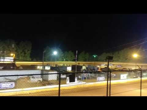 Flip At Laurens County Speedway (skip to 1:23)