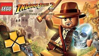 Lego Indiana Jones 2 PPSSPP Gameplay Full HD / 60FPS