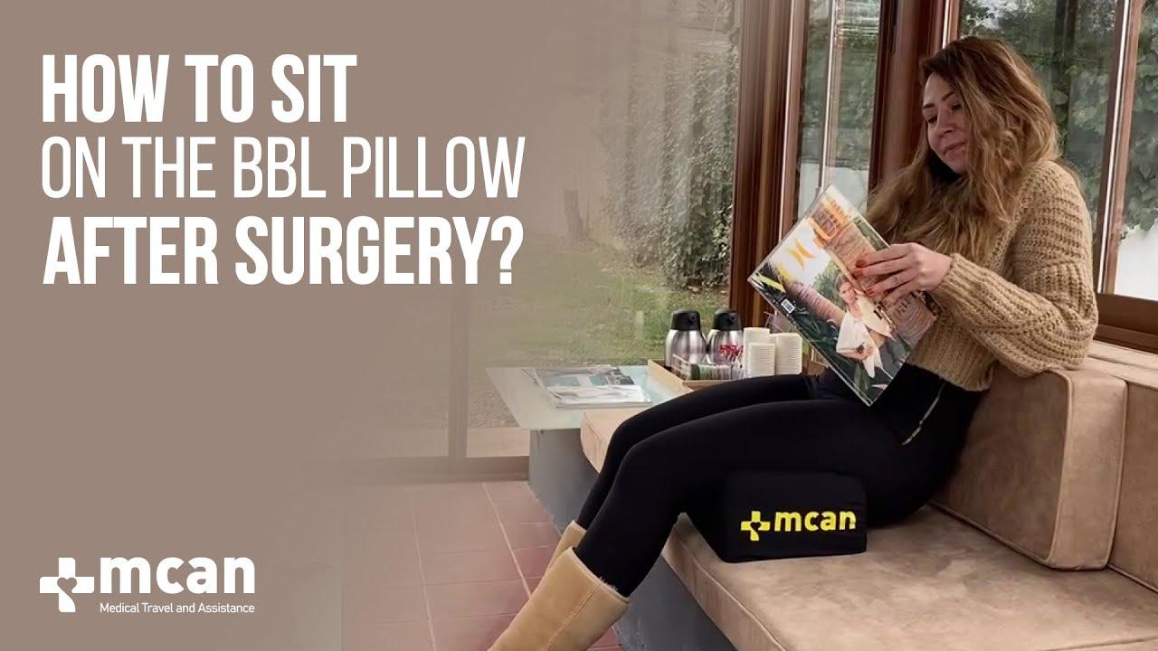 sit on bbl pillow after bbl surgery