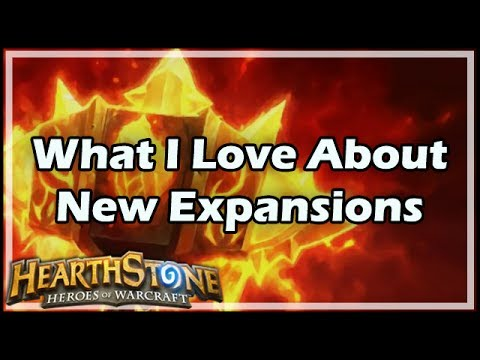 [Hearthstone] What I Love About New Expansions